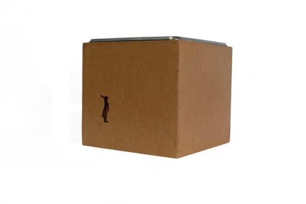 knock box para desperdicios de café
