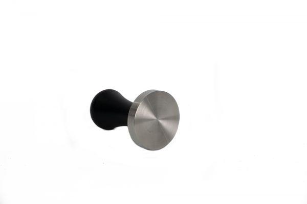 tamper de 58mm mango negro y base de acero