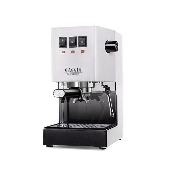 Gaggia 3 4 bianco su bianco fin 600x600 - Cafetera Gaggia Classic